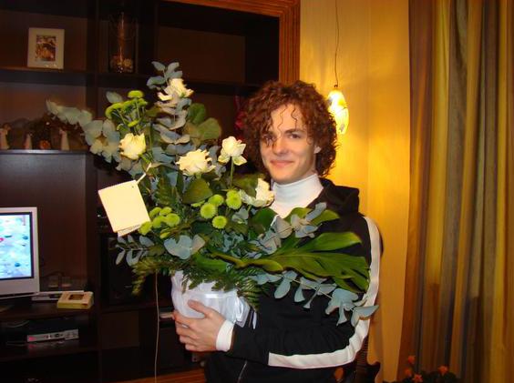 Цветы с доставкой для Алексея Матиаса фото